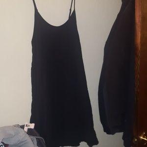 Cute women's black summer dress size xl